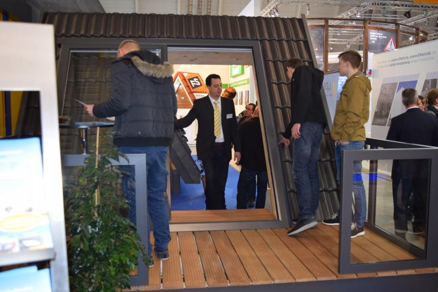 LiDEKO - Balkonausstiegsfenster Messe-Exponat