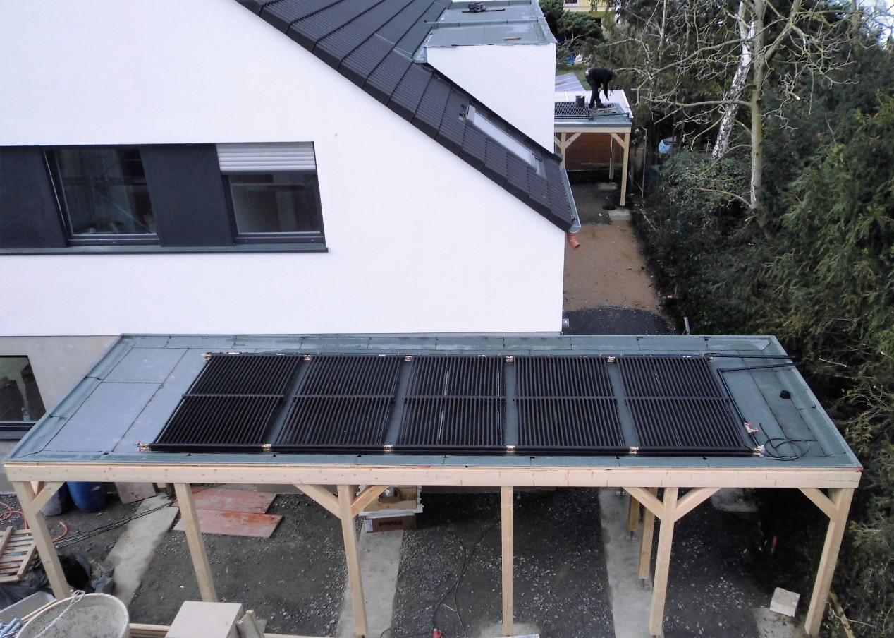 Eisspeicher Rohre Solar