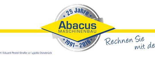 Helmut Schön, Vertriebsleiter der Abacus Maschinenbau GmbH