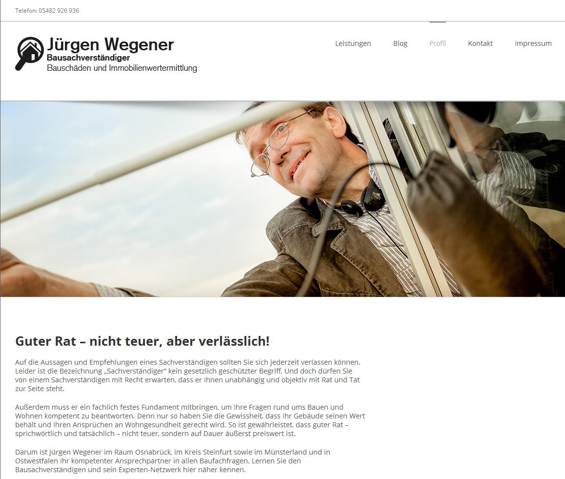 Wegener-Screenshot