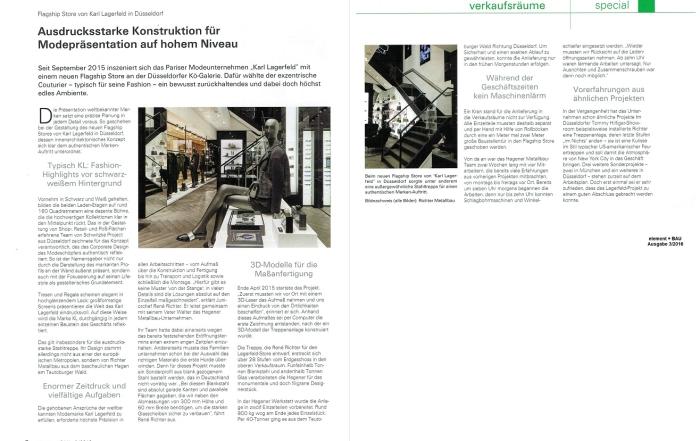Richter Metallbau - elemtene + BAU Aufgabe 3-2016 2