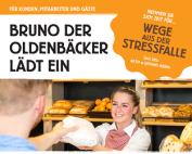 Bruno der Oldenbäcker lädt zu Wege aus der Stressfalle ein - klein