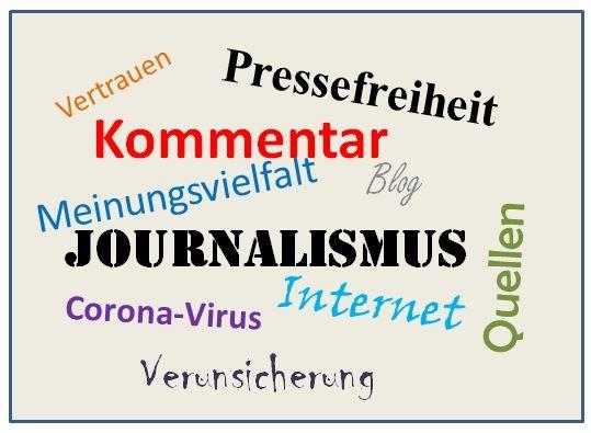 Journalismus - ein  Kommentar zur aktuellen Lage