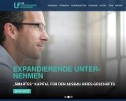 Website Unternehmensfinanzierer Expansion