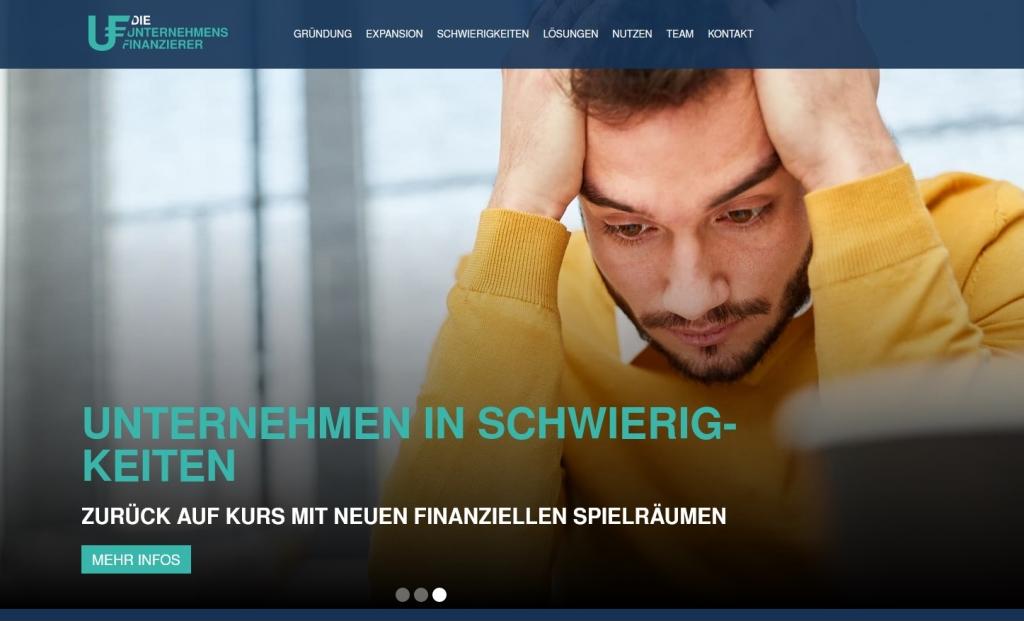 Die Unternehmensfinanzierer: Beratung für Firmen in Schwierigkeiten